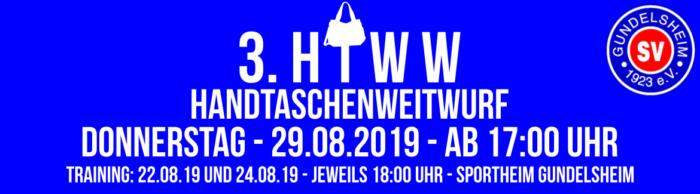 3. Handtaschenweitwurf-Wettbewerb der Damen @ Sportheim Gundelsheim